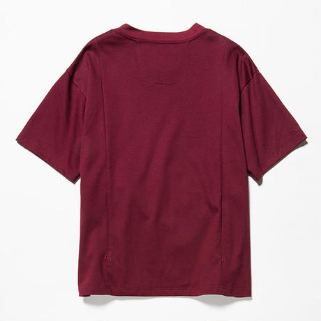 GIZA Cotton Sack Tee/WINE [MW-CT18201]