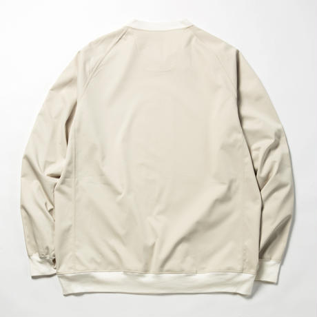 Elastic Twill Popper Sweat/ASH PINK [MW-CT18101]