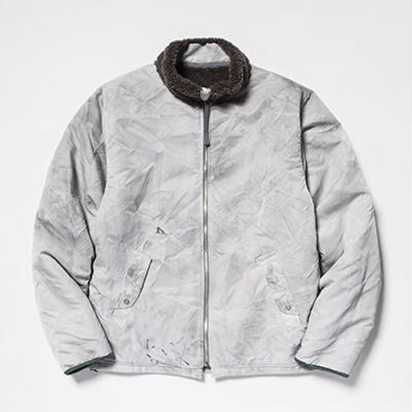 Dyed Camo Reversible Fleece/L3/Snow[MW-JKT19207]