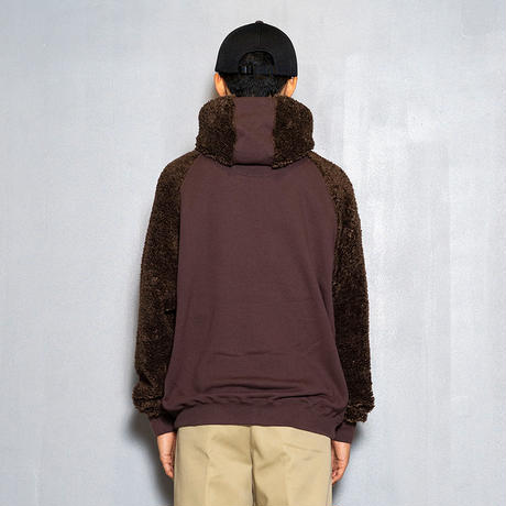 Pile Function Hoodie(Brown)/MW-CT20206