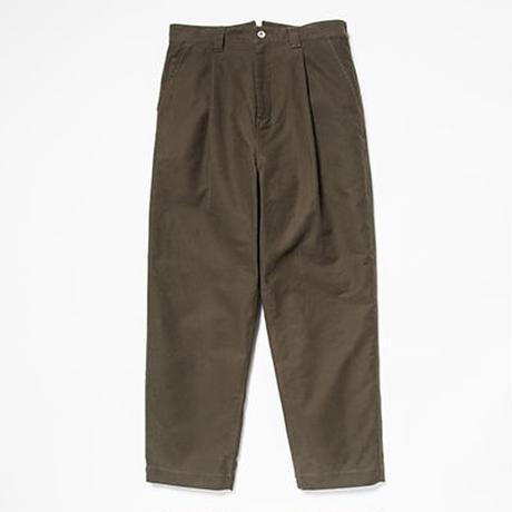 Heavy Moleskin Trousers/Deep Green[MW-PT19201]