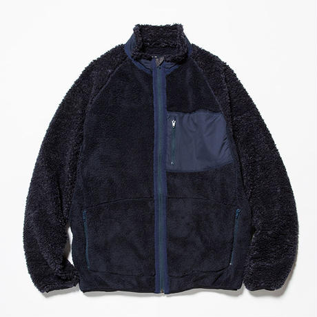 Behavior Fleece Jacket/NAVY [MW-CT18203]