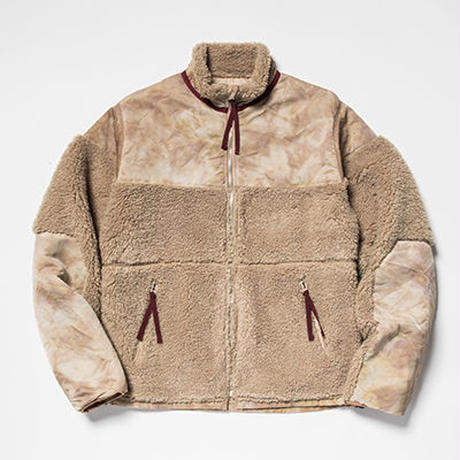 Dyed Camo Reversible Fleece/L3/Sand[MW-JKT19207]