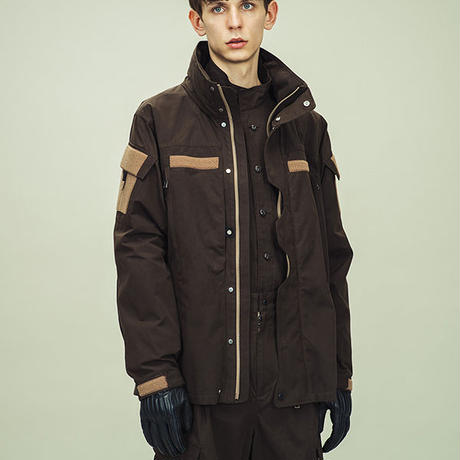 Wax Coat Uniform JKT/L4/Olive[MW-JKT19203]