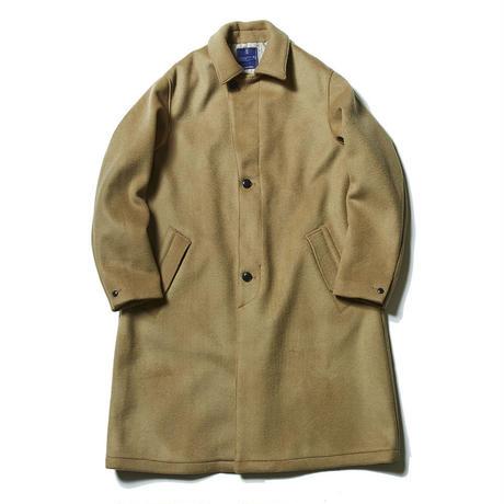 Double Melton Over Coat/KHAKI