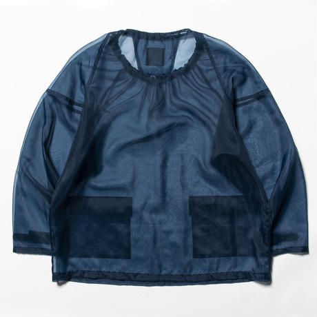 Rip Stop Mesh Pullover (Navy) / [MW-SH20106]