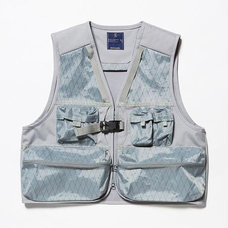 X-Pac/Cordura Luggage Vest/SILVER GREY [MW-JKT18203]
