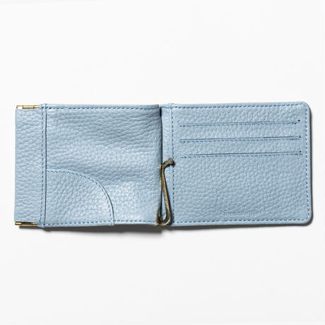 Leather Money Clip (Ice Blue) / [MW-AC20101]