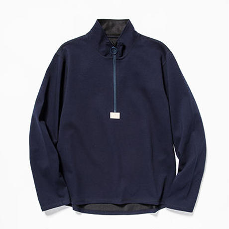Water-Repellent Breathe Cloth Mid Shirts/L2/Navy[MW-CT19206]