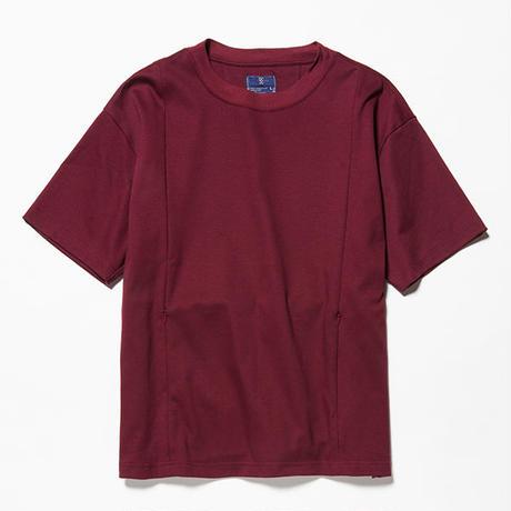 GIZA Cotton Sack Tee/WINE [MW-CT18201]