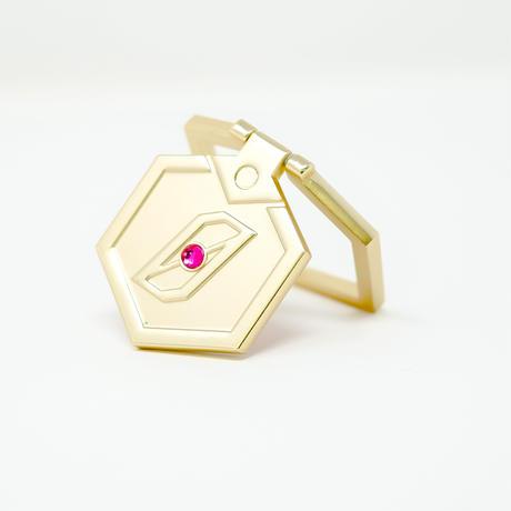 【受注生産:2019年11月下旬発送予定】メダル型スマートフォンアクセサリー_ゼロVer.-MDST273-