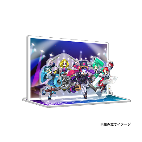 【DVD発売記念・期間限定】MEDAROT DAY 2020 アクリルスタンド バンド機体ver. -50104