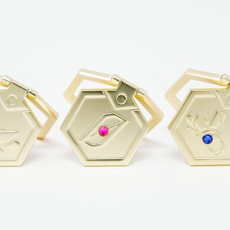 【受注生産:2019年11月下旬発送予定】メダル型スマートフォンアクセサリー_コンプリートセット-MDST274-