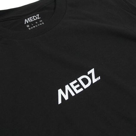 MEDZ LOGO T-SHIRTS - BLACK-