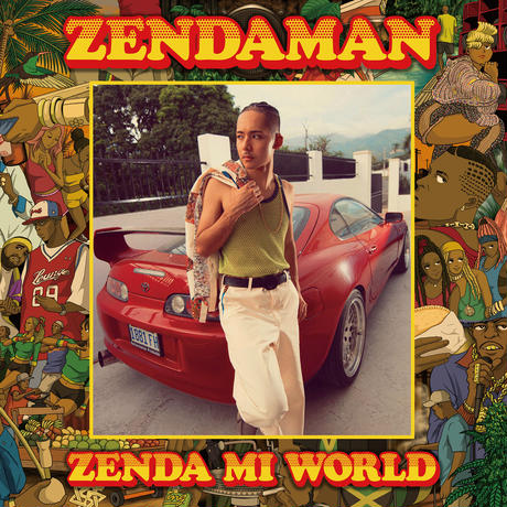 "ZENDAMAN ""ZENDA MI WORLD"" アルバムCD盤"
