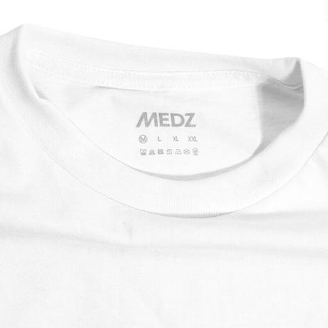 MEDZ LOGO T-SHIRTS -  WHITE-