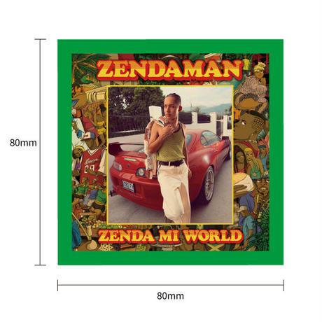 "ZENDAMAN ""ZENDA MI WORLD""リリース記念初回限定セット  <アルバム/ロンTee/ステッカー全2種類>"