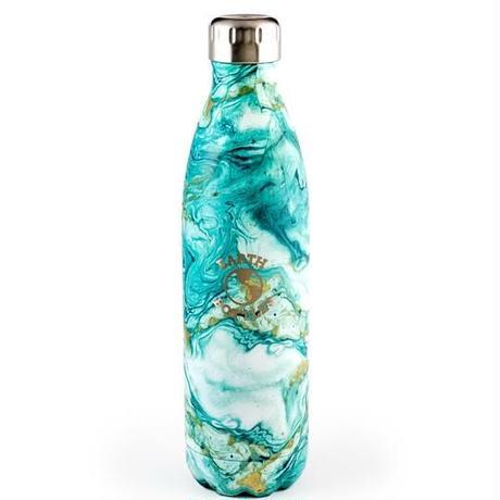 【Earth Bottle】グリーンマーブル-500ml