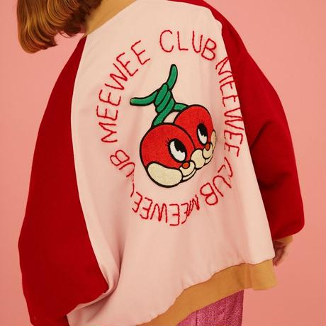 Cherry stadium jumper