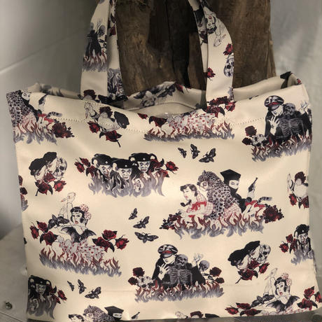 suehiro maruo tattoo tote bag