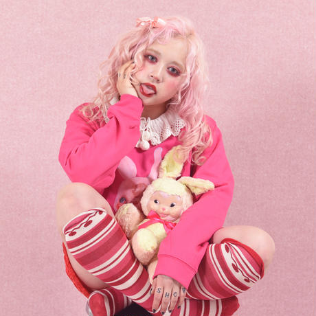 mimi SCAR sweat type A(襟付き)