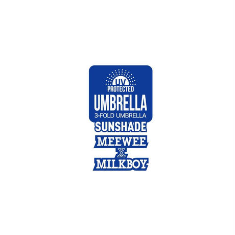 UMBRELLA for MAN (MILKBOY × MEEWEE)