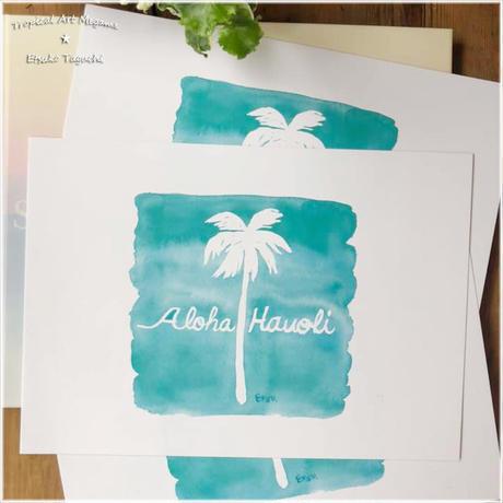 palmtreeA4ポスター