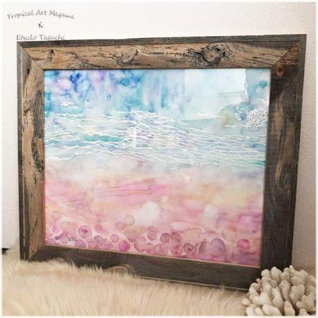 原画:ピンクの海