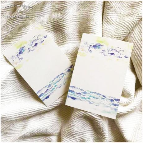 空と海ポストカード