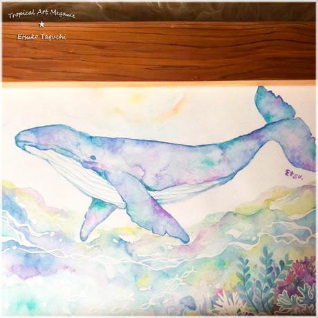 原画:Whale in a dream