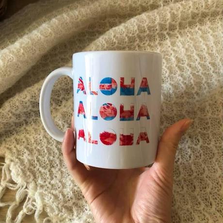 HAWAII ALOHAマグカップ