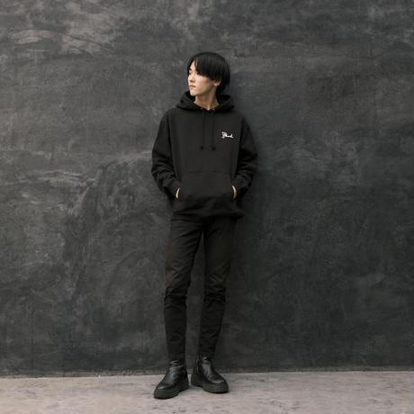 DASADA ロゴ×歌詞パーカー【ブラック】(D-046)