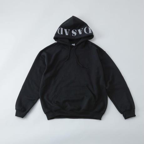 DASADA パーカー 【ブラック/ホワイト】(D-004)
