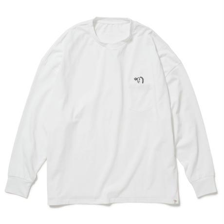 きょうりゅう ロンT【ホワイト】(D-021)