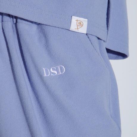 DSD ルームウェア下ロング【ブルー】(D-029)