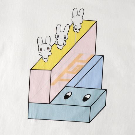 NEXT D PROJECT Tシャツ(ガブリイズム・ガブリメリー) ver1【ホワイト】(D-040)