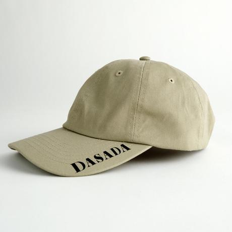DASADA ロゴキャップ【カーキ】(D-047)