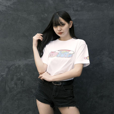 NEXT D PROJECT Tシャツ(ハヤシレナ)【ホワイト】(D-042)