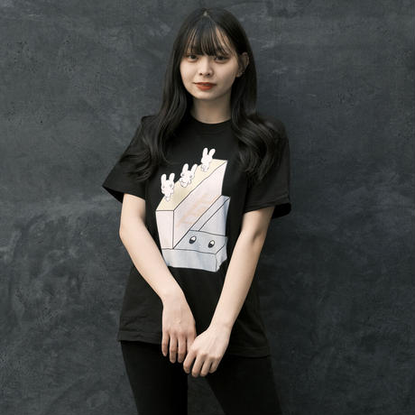 NEXT D PROJECT Tシャツ(ガブリイズム・ガブリメリー) ver1【ブラック】(D-040)