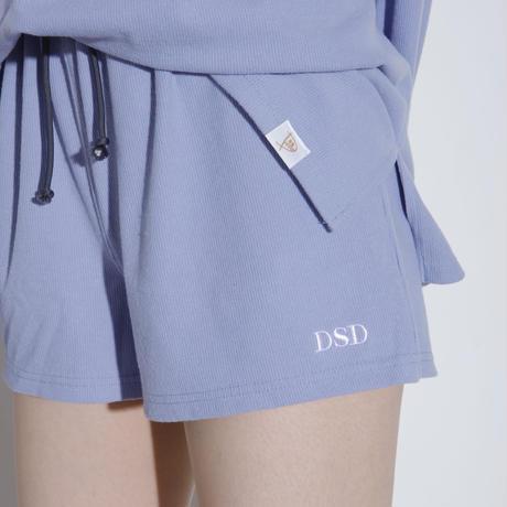 DSD ルームウェア下ショート【ブルー】(D-030)