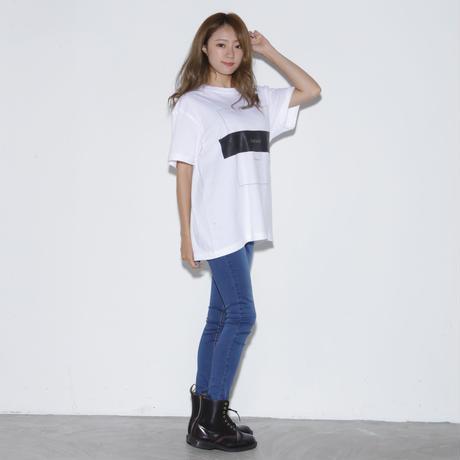 DASADA モノトーンTシャツ【ホワイト】(D-032)