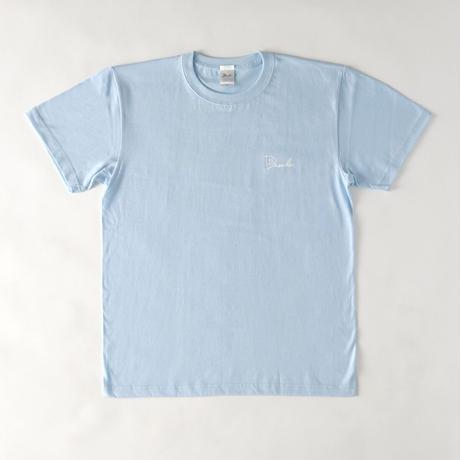 DASADA ロゴ×名言Tシャツ【ライトブルー】(D-045)