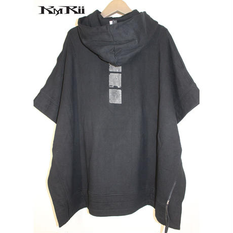 KMRii ・ケムリ・Fooded Poncho・Man's & Ladis'・ポンチョ
