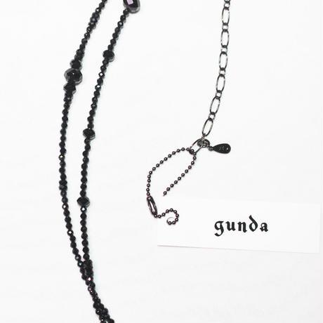 Gunda・ガンダ・S.M.N・NK/Spinel・ブラックシリーズ・ネックレス