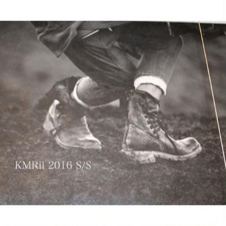 KMRii ・(ケムリ) ・ CRUSH CHROME BOOTS・2016 ブーツ