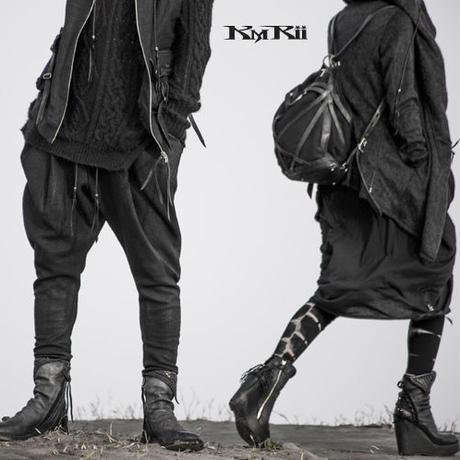 KMRii ・ケムリ・ COATING FLEECE JODHPURS PANTS・コーティング パンツ