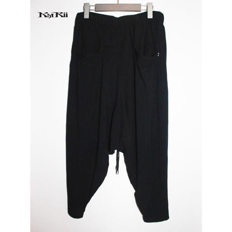KMRii ・ケムリ・Viscose Triangle Pants 02・サルエルパンツ