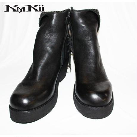 KMRii ・ケムリ・CRUSH  JET LACE  UP  BOOTS・LADIES ブーツ