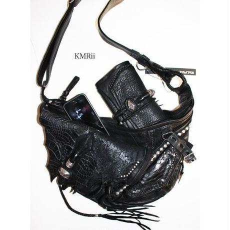 KMRii (ケムリ) KB-Shoulder CCDL・ ショルダーバッグ・ クロコバック