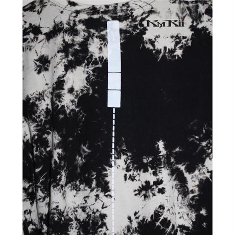 KMRii ・ケムリ・Tie Dye Side Slit Cut・カットソー